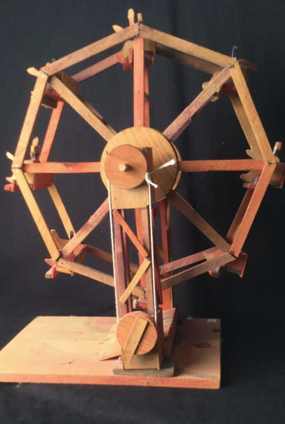 Rustic Wooden Antique Ferris wheel