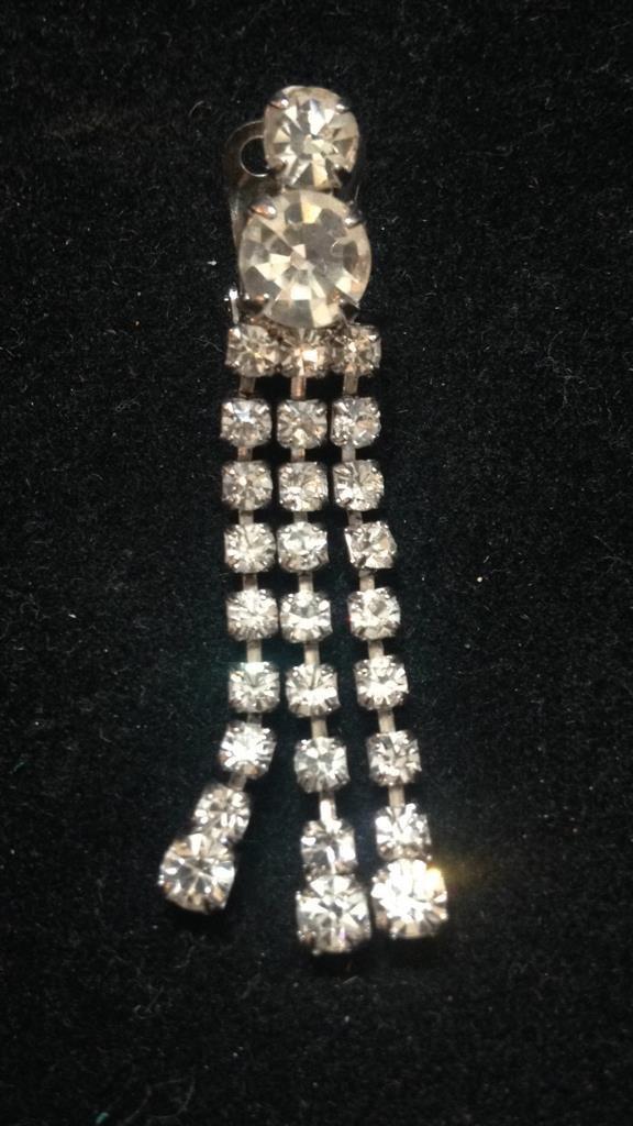 Vintage Glamour Clip Earrings - 2