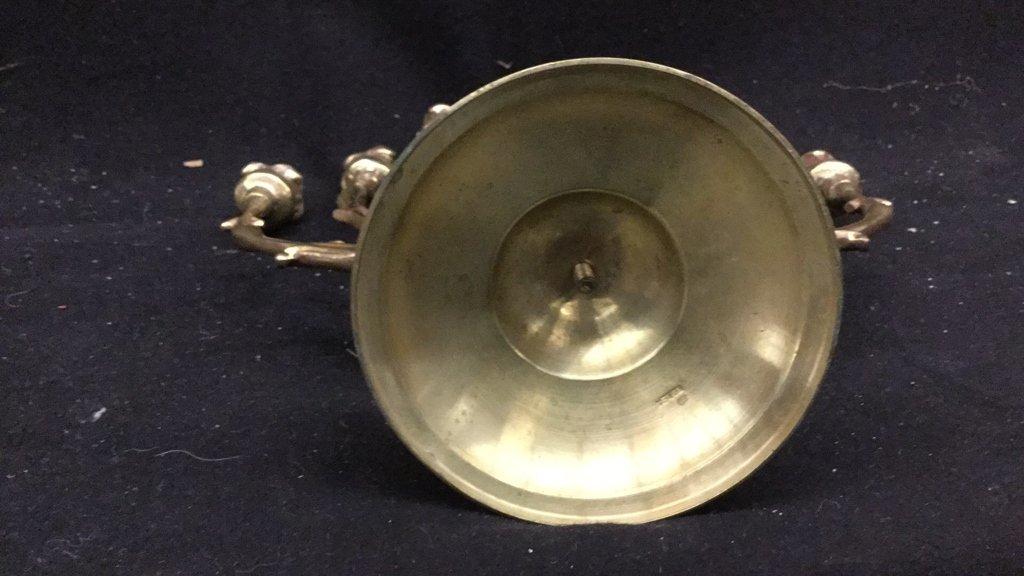 Brass Candelabra and Candlesticks - 5