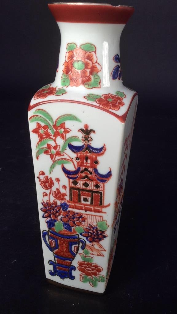 Hand painted group Asian Porcelain - 2