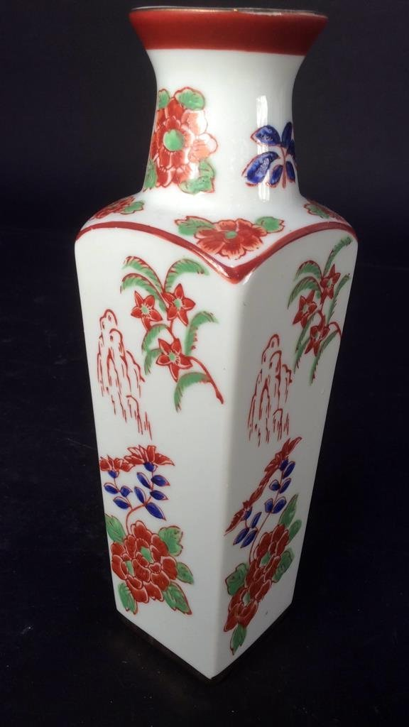 Hand painted group Asian Porcelain - 3
