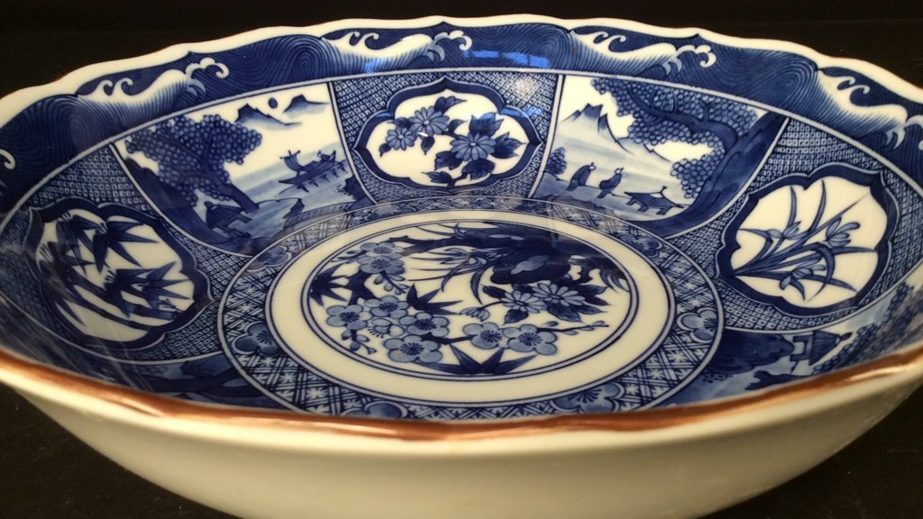 Hand painted group Asian Porcelain - 5