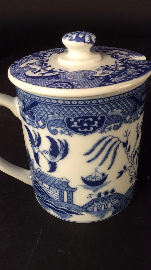 Hand painted group Asian Porcelain - 8
