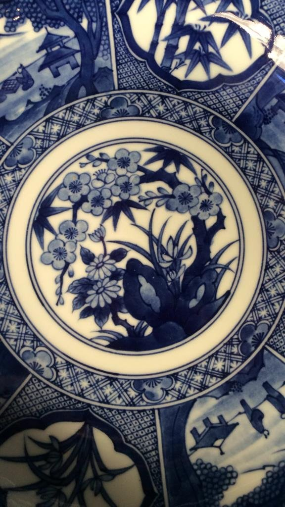 Hand painted group Asian Porcelain - 9