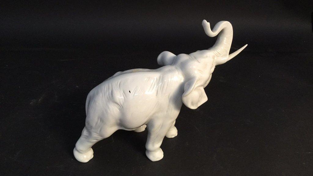 Czechoslovakia Hand Painted Elephant - 4