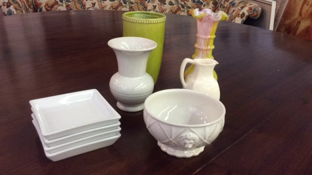 Mixed Group lot Of Dishes & Porcelain - 2