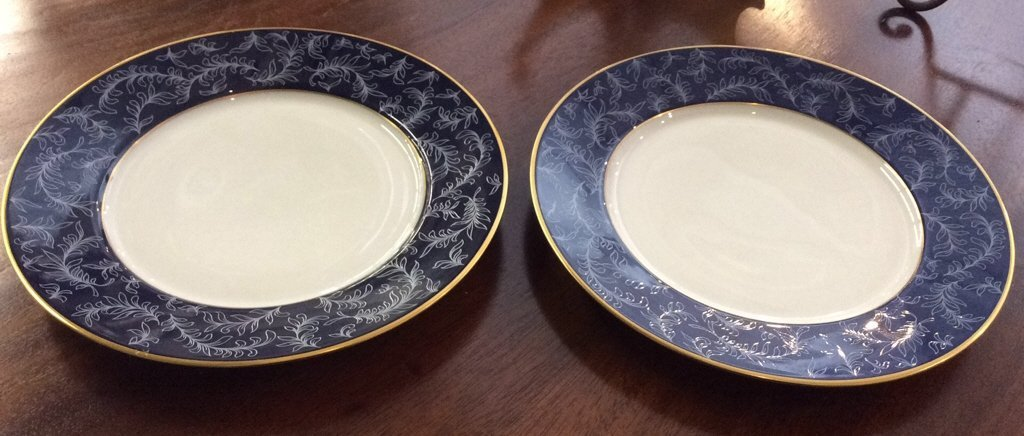 LIMOGES Pair of Plates