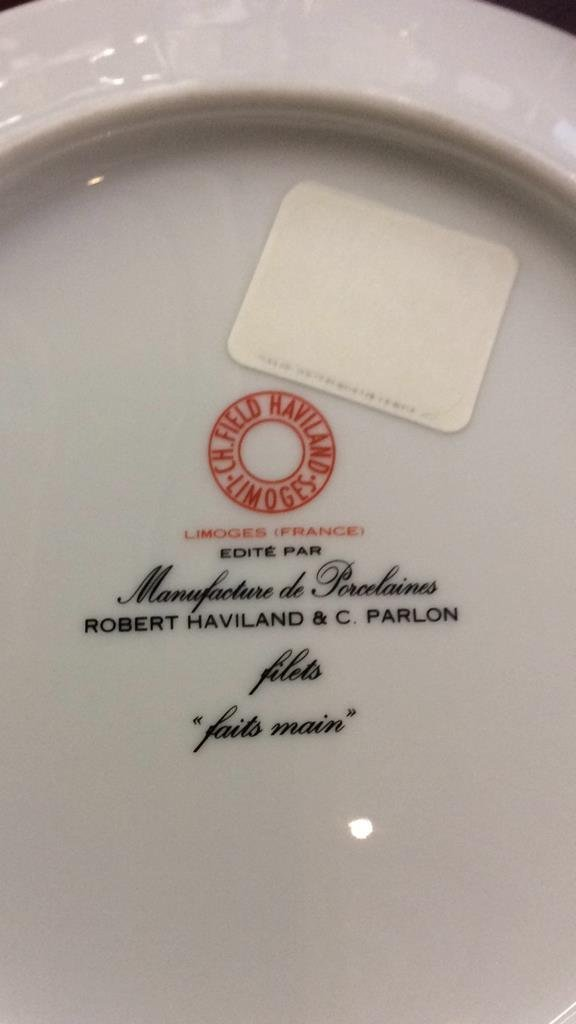 LIMOGES Pair of Plates - 5