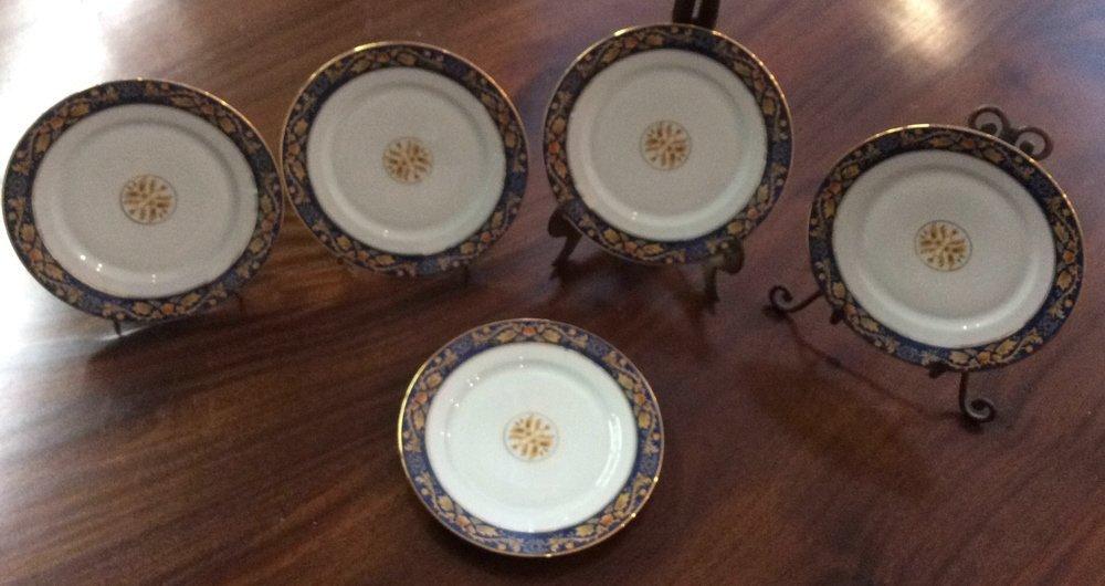 LIMOGES Set Of 5 Plates