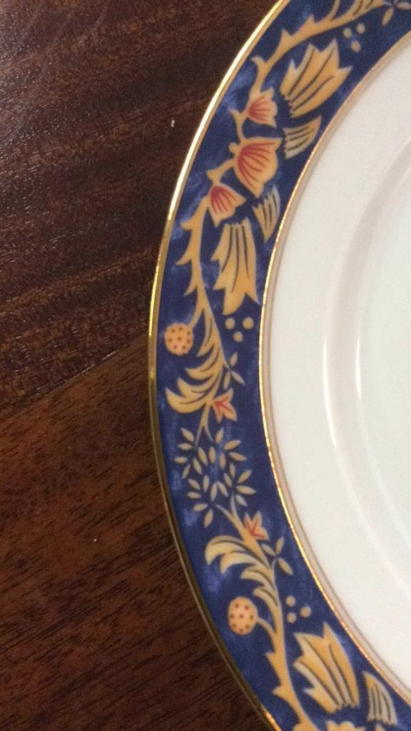 LIMOGES Set Of 5 Plates - 5