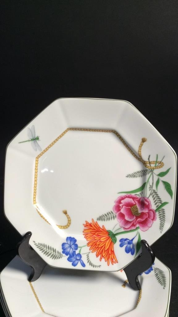 LYNN CHASE FLORES Set Of 4 Plates - 2