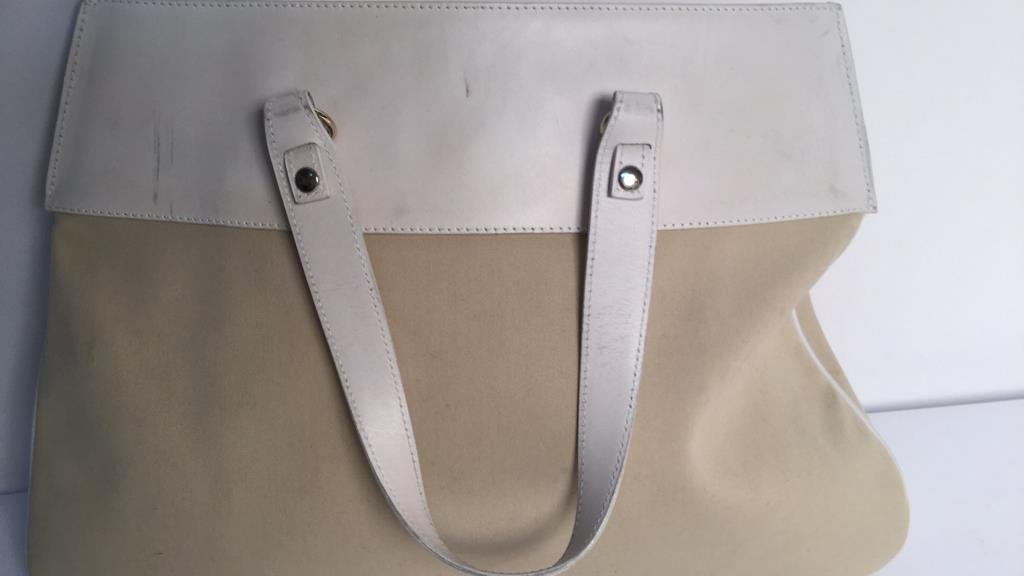 Frederic Fekkai Linen Leather Purse and Silk Purse - 3