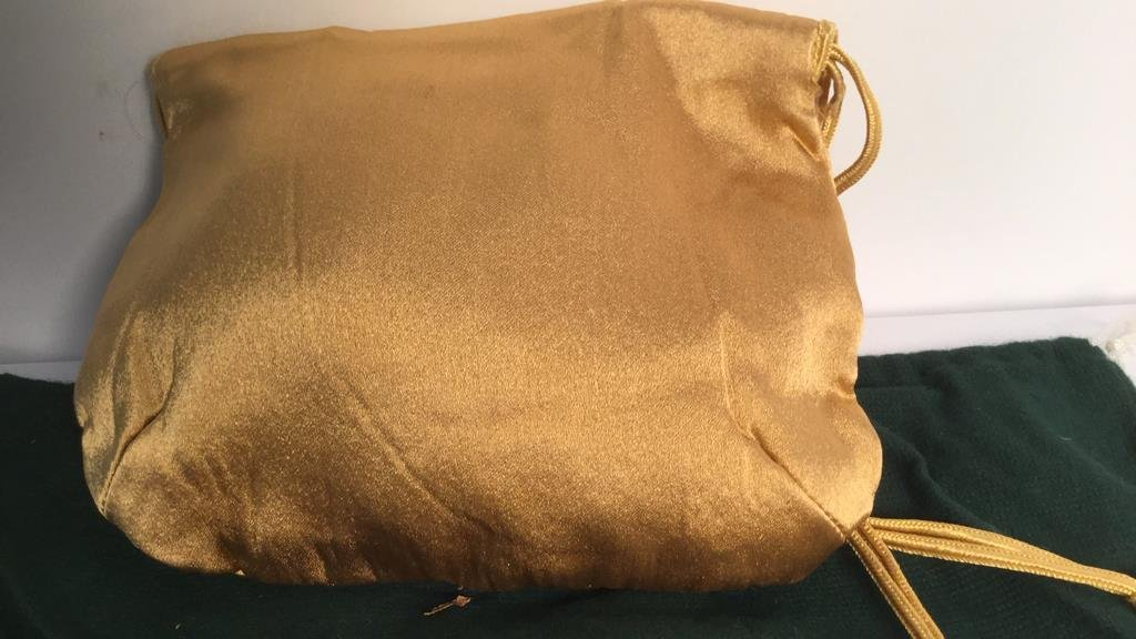 Frederic Fekkai Linen Leather Purse and Silk Purse - 6