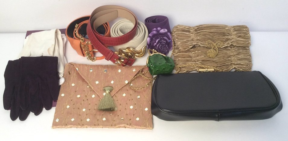 Vintage Gloves Belts & Bags