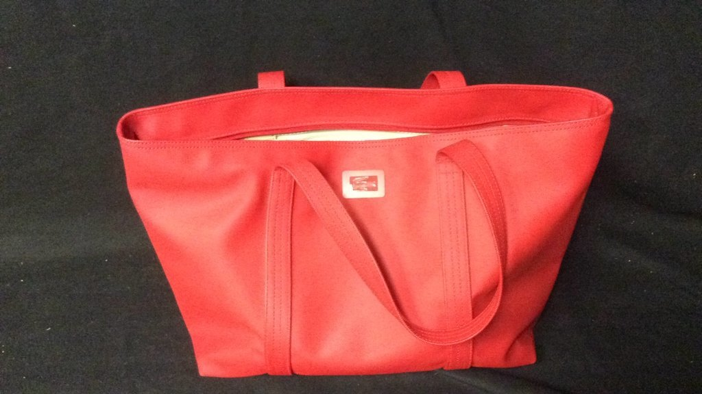 Red Lacoste Duffle Bag - 2