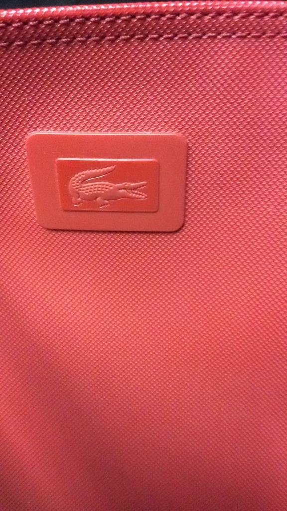Red Lacoste Duffle Bag - 4