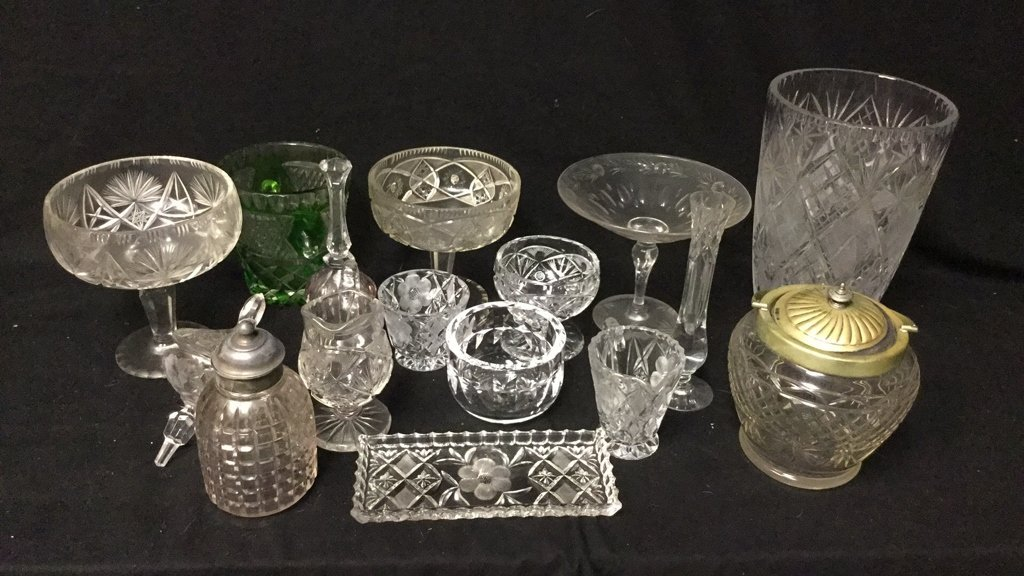 15 Plus Cut Crystal Group Lot