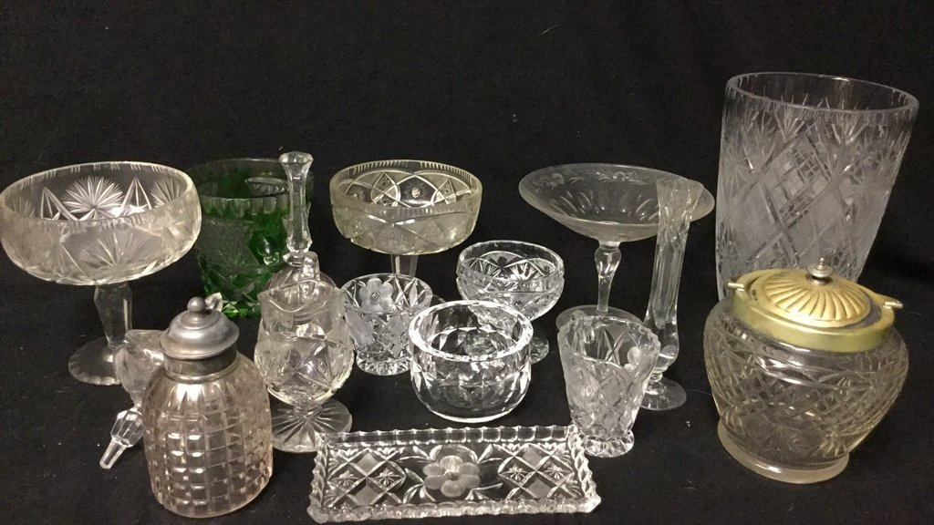 15 Plus Cut Crystal Group Lot - 2
