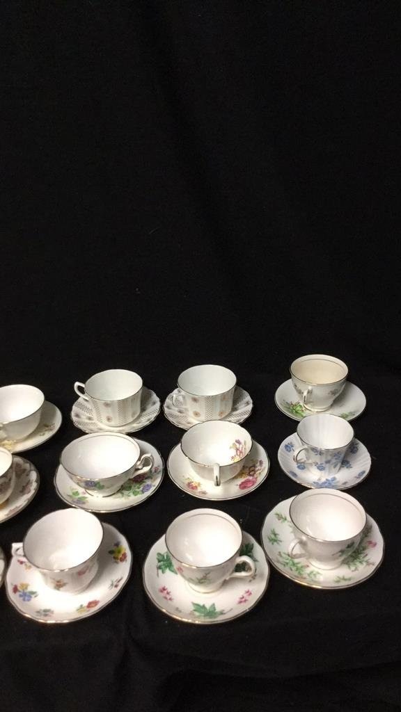15+ Marked Tea Cup Group Lot - 5