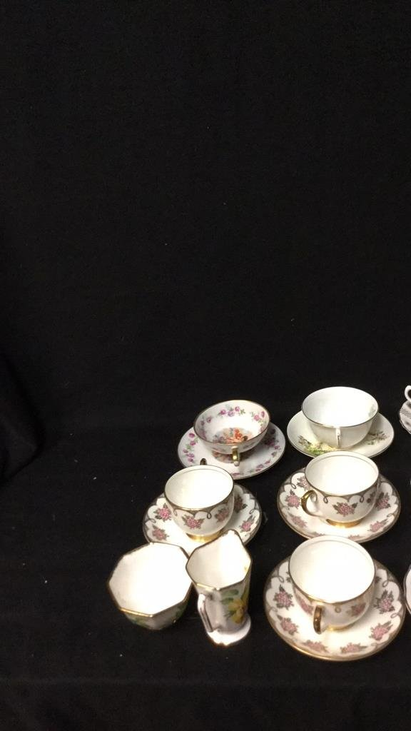15+ Marked Tea Cup Group Lot - 6