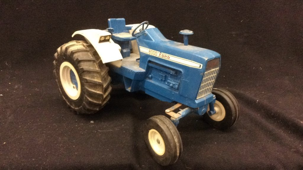 Vintage Toy Ford Tractor - 2