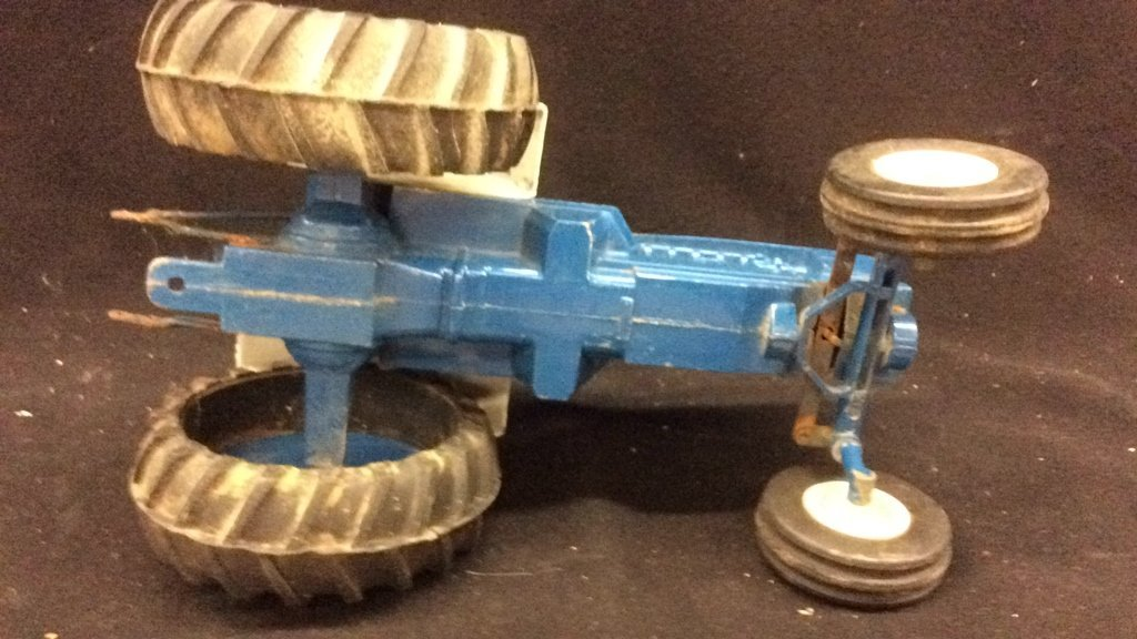 Vintage Toy Ford Tractor - 3