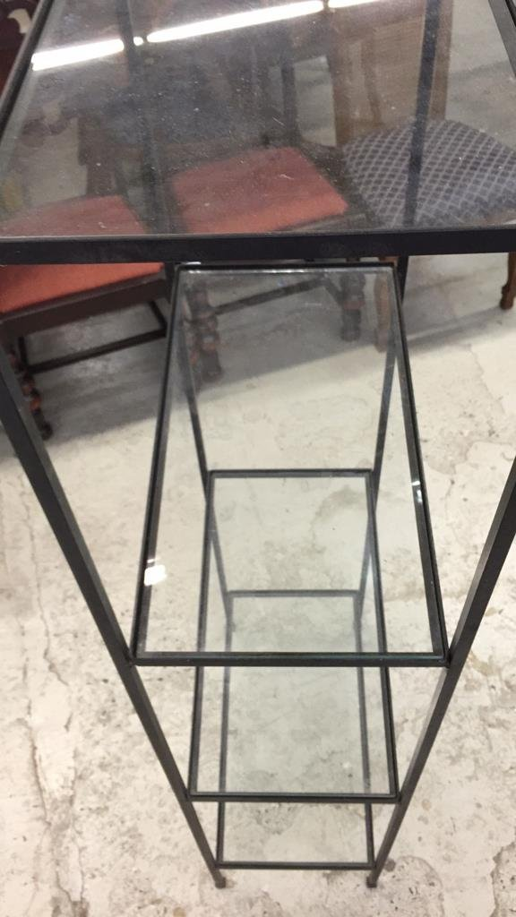 Wrought Iron and Glass Shelving - 3