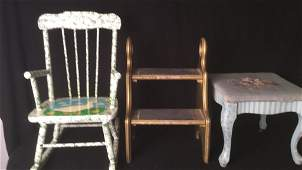 Group of Small Childrens Furniture