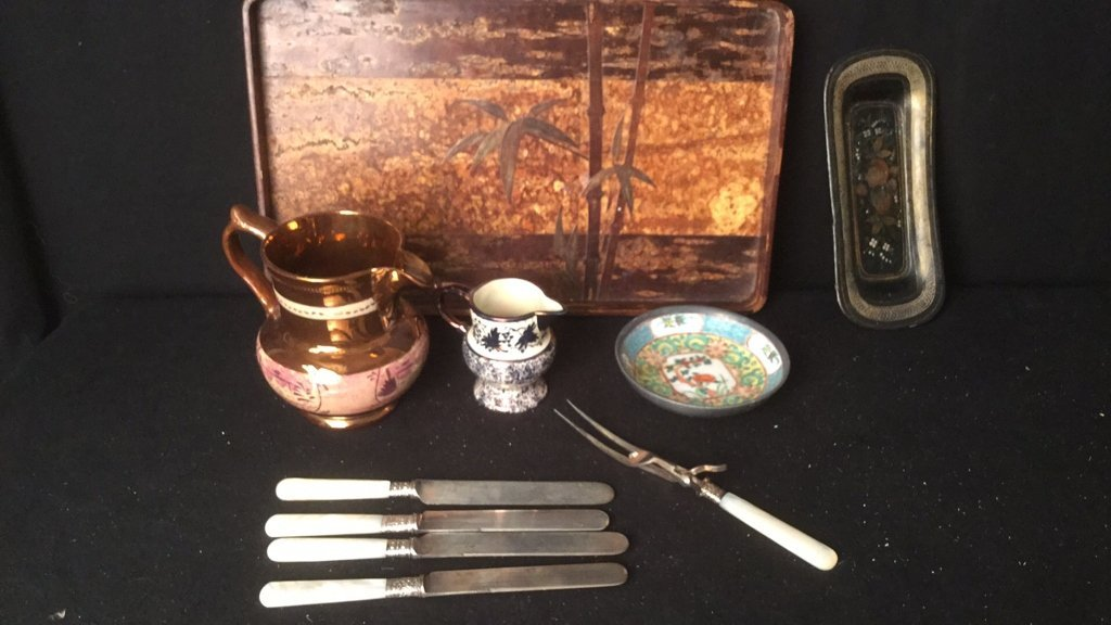 East Asian Table Items Group Lot