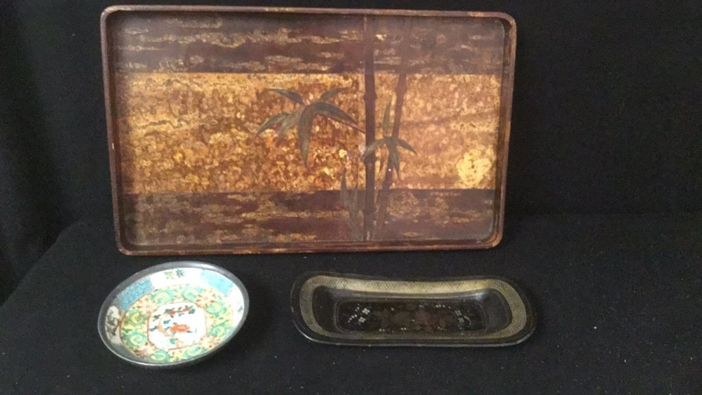 East Asian Table Items Group Lot - 7