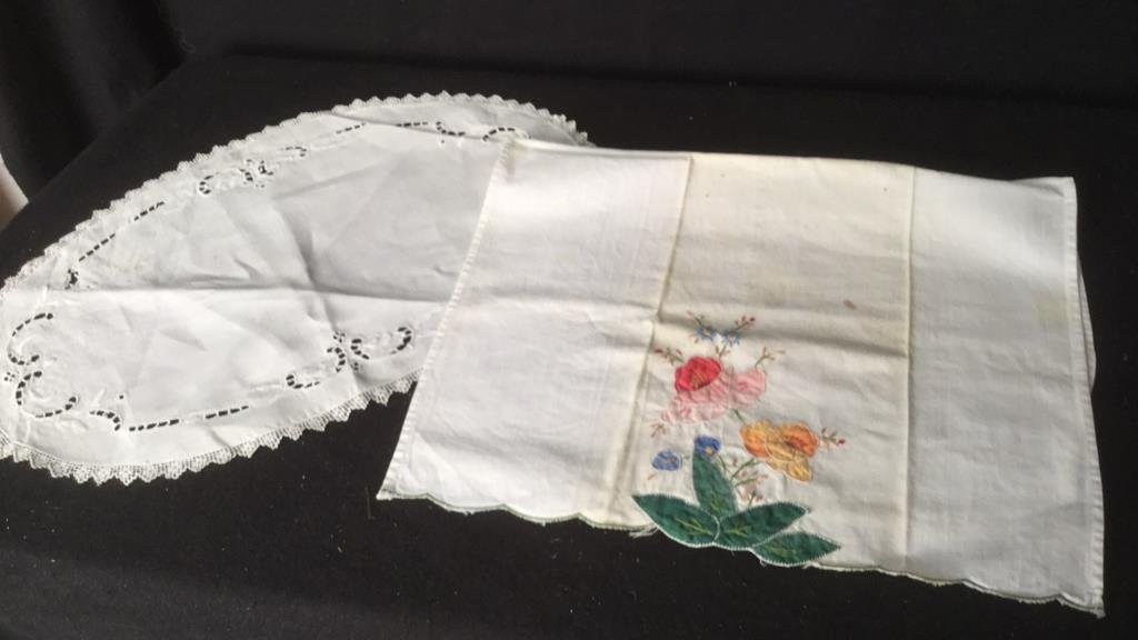 Lace and Embroidery Group lot - 6