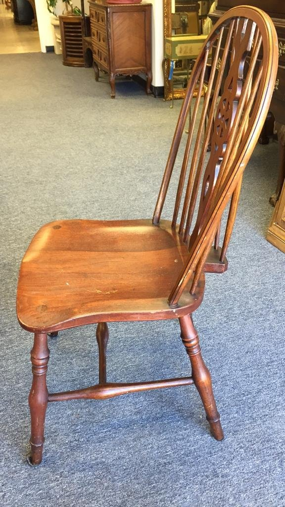 English Country Windsor Chair with Brace - 4