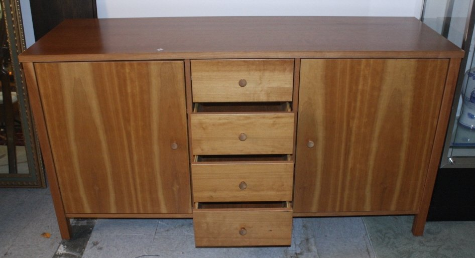 Transitional Style Buffet Cabinet