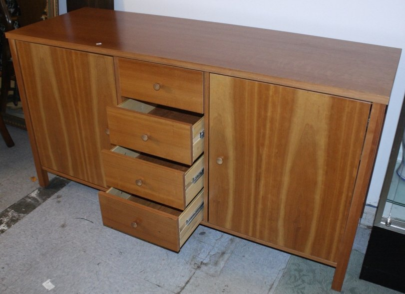 Transitional Style Buffet Cabinet - 2