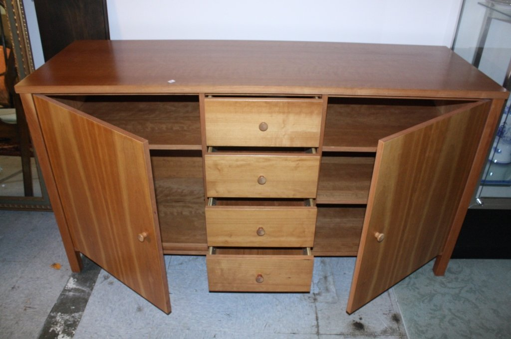 Transitional Style Buffet Cabinet - 3
