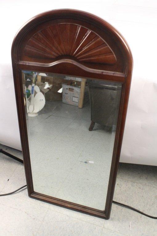 Bombay & Company Mahogany Framed Mirror
