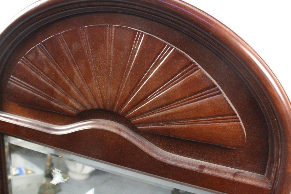 Bombay & Company Mahogany Framed Mirror - 2