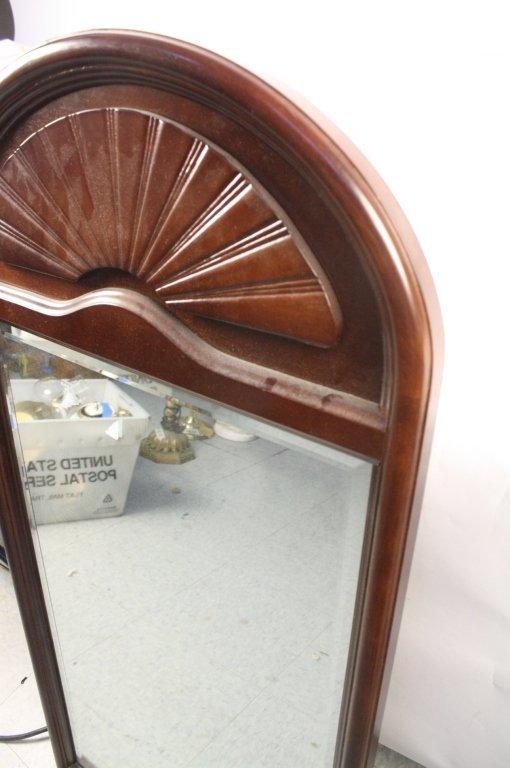 Bombay & Company Mahogany Framed Mirror - 3