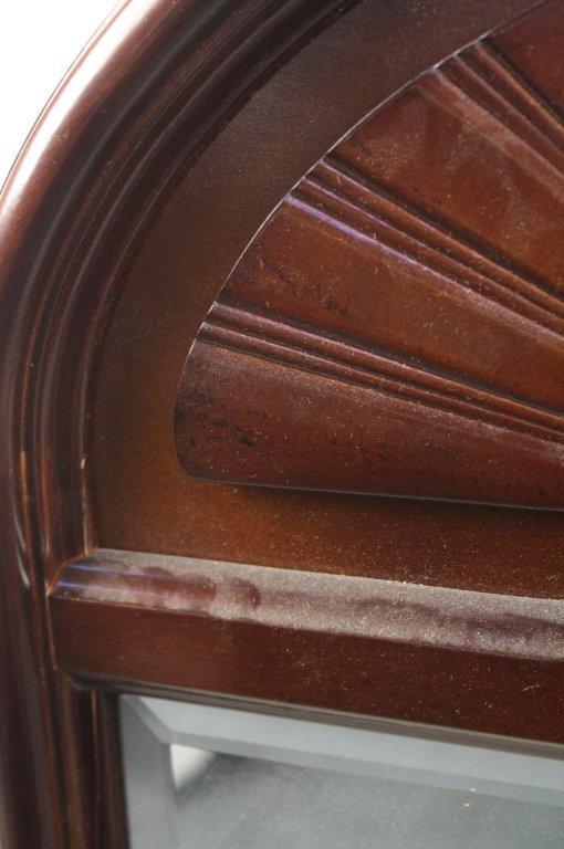 Bombay & Company Mahogany Framed Mirror - 4