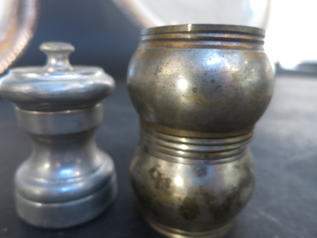 Silver Plate and Sconce Group Lot - 4