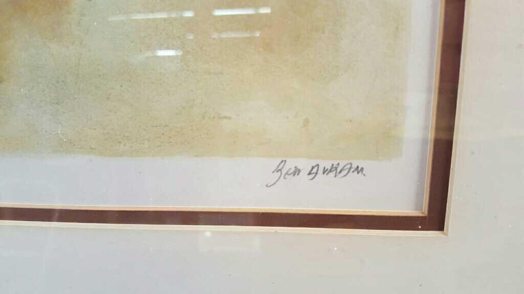 BEN AVRAM Signed Numbered Lithograph Jerusalem - 3
