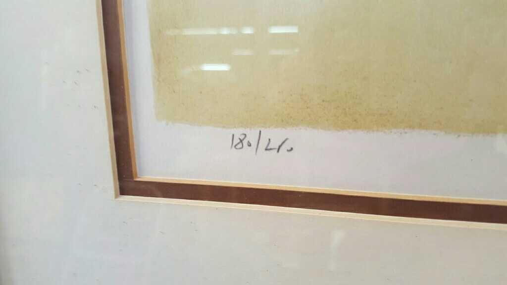BEN AVRAM Signed Numbered Lithograph Jerusalem - 4