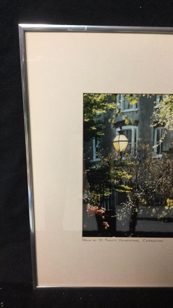 Framed Photo of Charleston Signed RARocz - 3