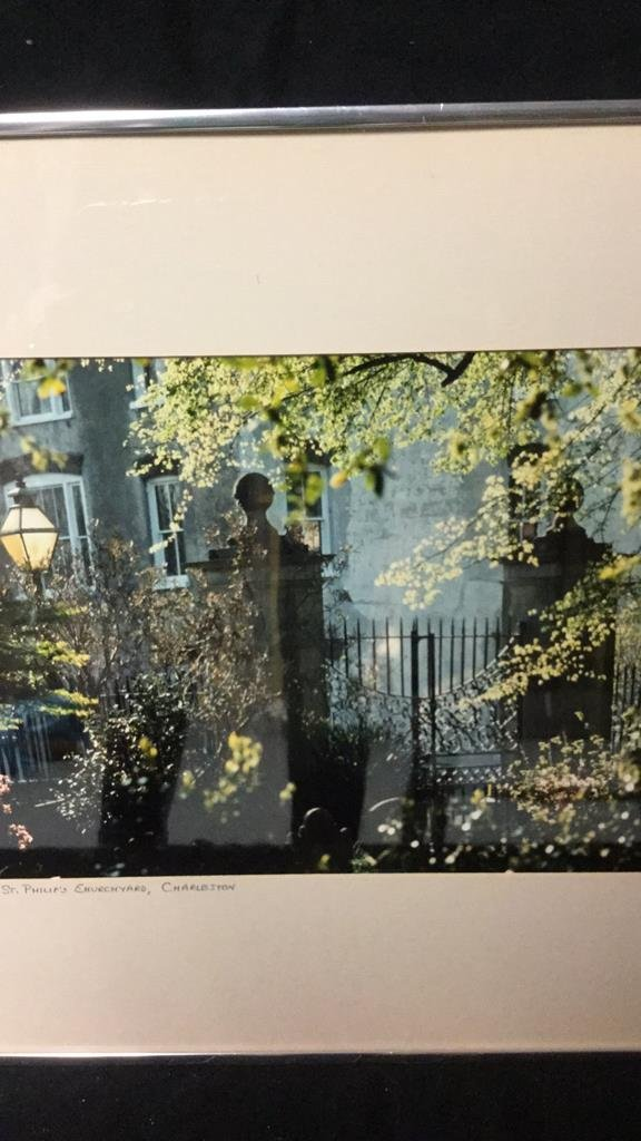 Framed Photo of Charleston Signed RARocz - 4