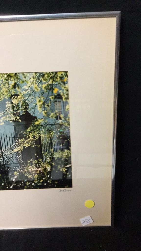 Framed Photo of Charleston Signed RARocz - 5