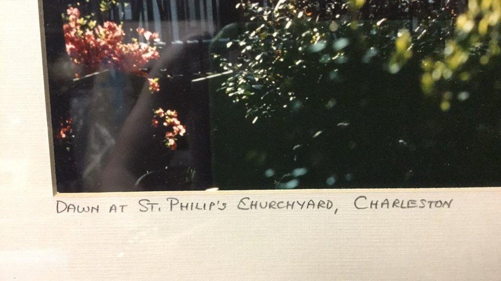 Framed Photo of Charleston Signed RARocz - 6