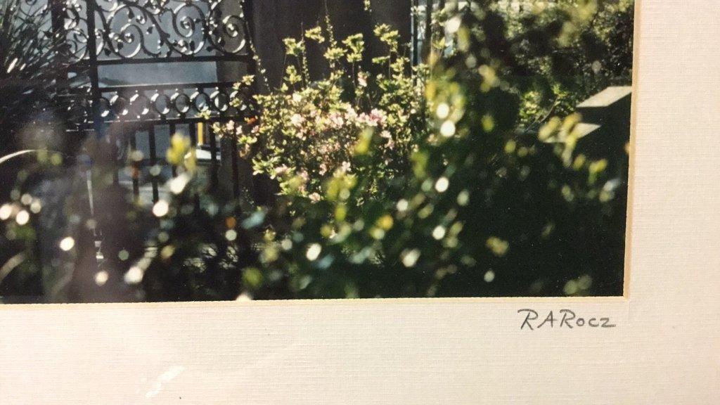 Framed Photo of Charleston Signed RARocz - 7