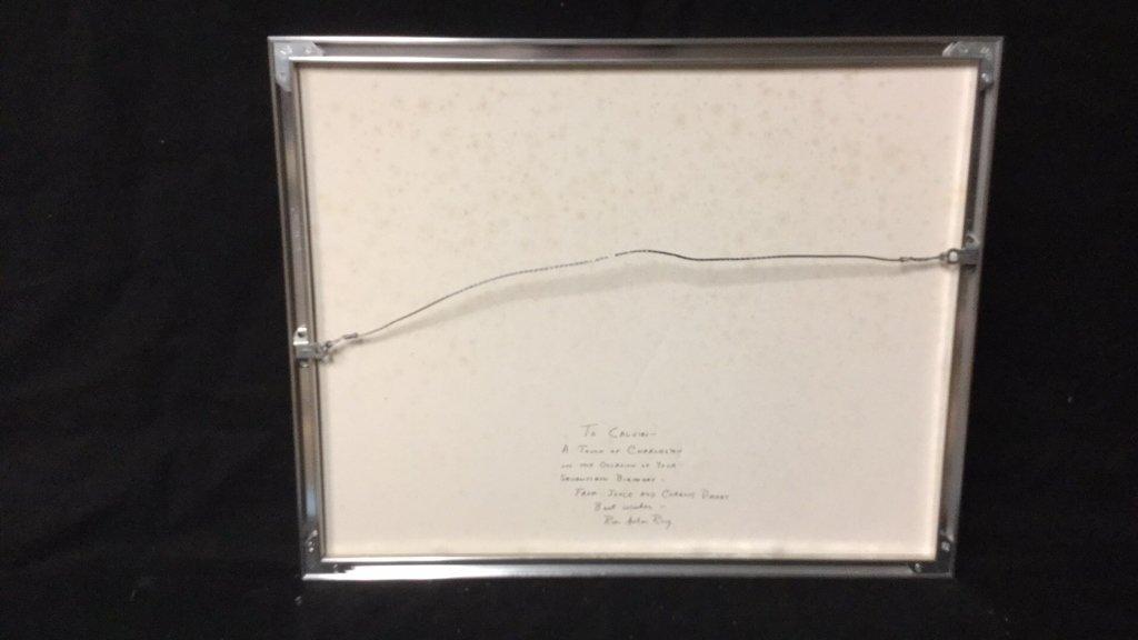 Framed Photo of Charleston Signed RARocz - 8