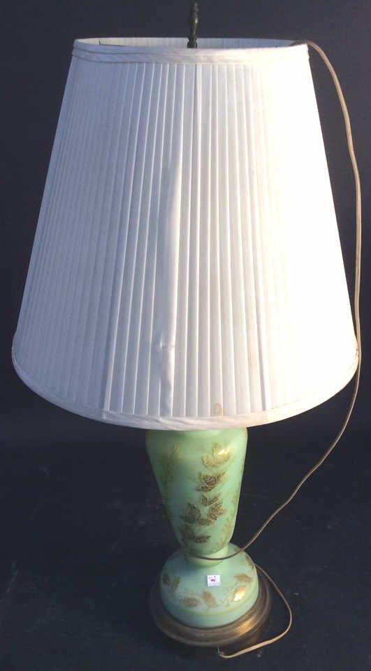 Ceramic Corner Table Lamp