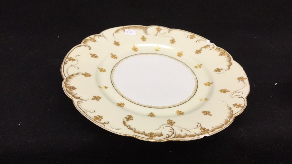 6 Piece Limoges Group lot Tea Cups And Plate - 3